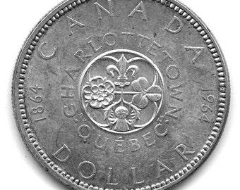 Canada 1964 Silver Dollar