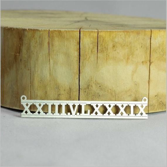 romain num ros or collier de chiffres romains nombres collier. Black Bedroom Furniture Sets. Home Design Ideas