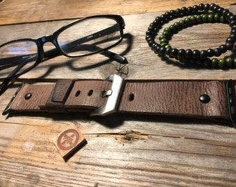 Apple Watch Leather Strap Band 42mm, 38mm Men or Women