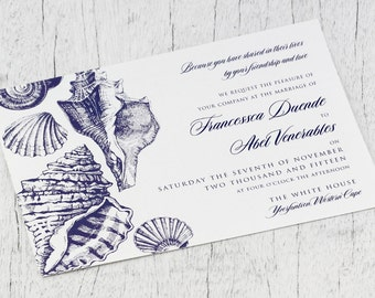 Sea Breeze Invitation