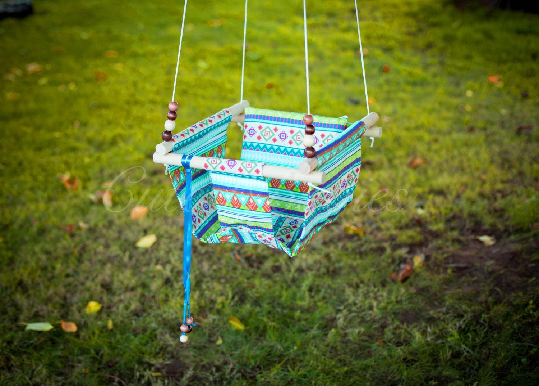 Baby Fabric Swing W Pilow Indoor Outdoor Baby Todler Swing