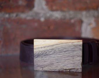 Gift for boyfriend fiance husband, exotic wooden belt buckle for him, gift for men, black belt buckle for the wedding, mens fashion