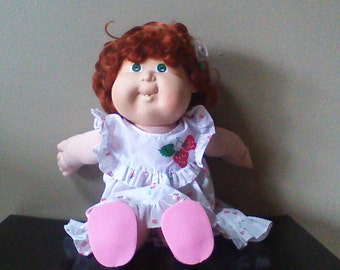 Vintage Cabbage Patch Doll Girl 1988