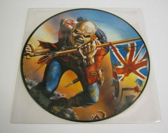 Iron Maiden Collectable Picture Disc Vinyl Records