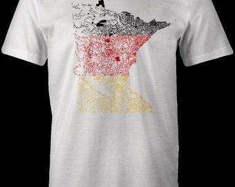 Minnesota German Flag T-Shirt