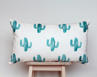 SALE | Cushion cover with green cacti