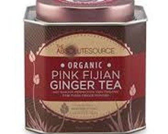Pink Fijian Ginger tea
