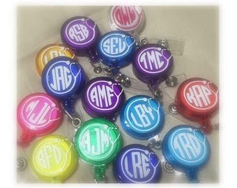 Monogram Badge Reels