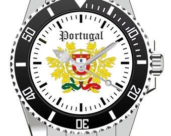 Portugal Wappen Kiesenberg Uhr 1000