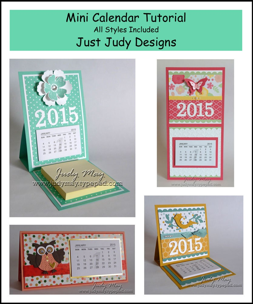 Calendar Craft Projects : Craft tutorial mini calendar projects