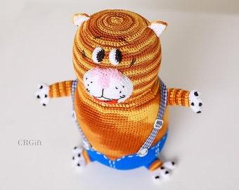 Crochet Cat Tahiti / Tahiti Cat / Tahiti / Amigurumi / Crochet Cat / Home Decoration / Amigurumi