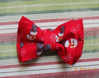 Dog Bow Tie//Thanksgiving Dog Bow Tie//Thanksgiving Bows for Dogs//Christmas Bow Tie for Dogs//Bows for Dogs//Over the Collar