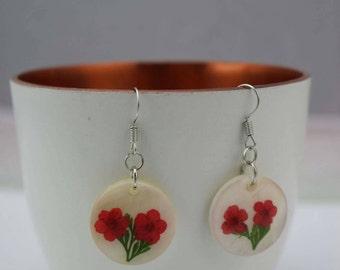Cabochon earrings original
