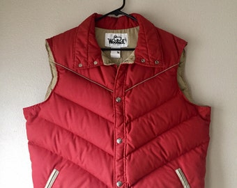 Vintage Woolrich Puffy Down Vest
