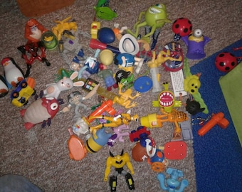 MCDonald's toys collection 1980s to current