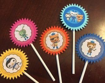 Octonaut Cupcake Toppers, Octonaut Party, Octonaut Birthday (5)