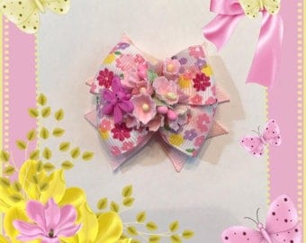 Forget Me Not Drangonfly Bow
