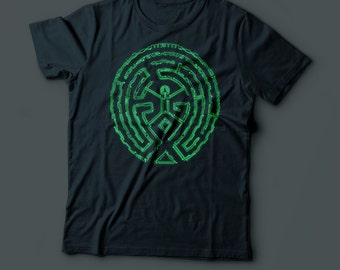 The Maze T-shirt - Westworld T-Shirt - Geek TShirt  - Mens Ladies 100% Cotton - Androids - Robots - Fantasy - Sci Fi TShirt