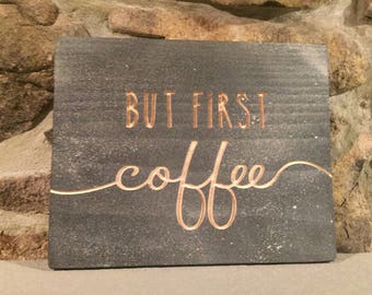 Coffee Lover's Sign
