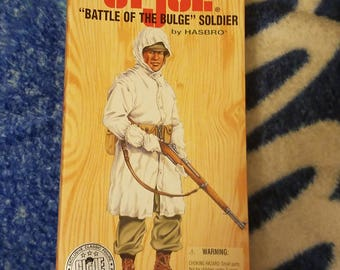 """12"""" GI Joe Battle Of The Bulge Soldier Exclusive Limited Edition Numbered Classic Collection Figure (1996)"""