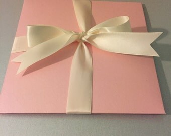 Fancy Baby Shower petal invitation/ girl fancy chic