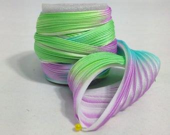 Silk ribbon Shibori N 157  Free delivery from  50 dollar...