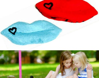 Heating Pads, Boo Boo Hot Packs for Pain relief, Needle Felted Heat Packs, Childs Spot Reliever,Adult Eye Pads, Pain Reliever Pads