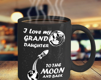 I Love my Granddaughter to the Moon and Back -