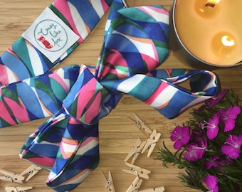 Luxe Bow knot Top knot headband - baby, mum, bright, blue, pink, teal. Babyshower gift.