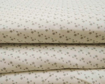 Dressmaking Fabric Cotton Fabric For Sewing Designer White 100% cotton sewing fabric star printng for crafting/other use by the yard ZBC6407