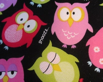 Colorful Owls, Snooze And ZZZZ