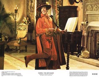"Zorro The Gay Blade  1981 – 11"" x 14"" US lobby card No 6"