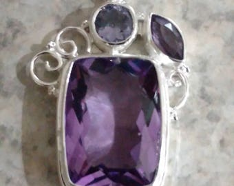 CLEARANCE *Amethyst Pendant Necklace