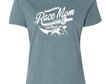 Race Mom t-shirt/Racer Mom t-shirt/Quarter midgets t-shirt/Proud Mom t-shirt