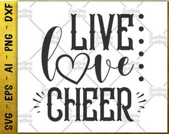 Download Live love cheer   Etsy