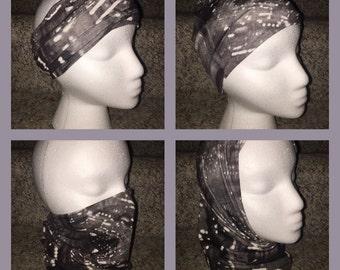 Versatile Headband/Hat/Face Shield all in one! Digital/Aztec/Tye Dye