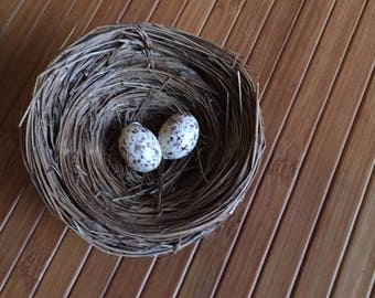 Hand made Bird Nest for Crafting or Home Decor