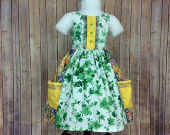 OOAK Spring, summer dress size 8