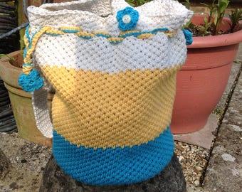 Crocheted bag Dolly bag Cotton Bag Summer bag