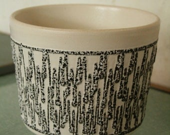 west German pottery planter by Ilkra