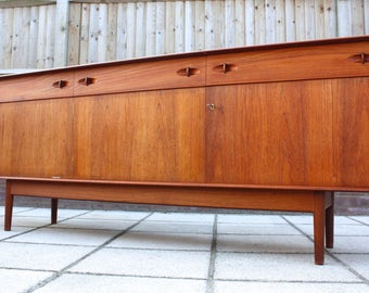 Dalescraft Mid Century Teak Sideboard Retro Vintage Danish G Plan Style  50s 60s 70s