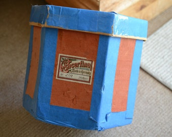 Antique German  Concertina in Playing Condition, ten key