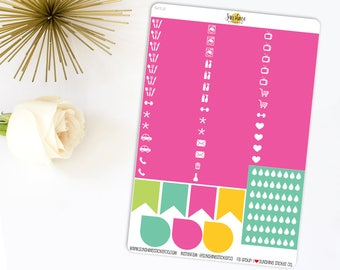 Summer Pop Little Things | Made to fit any planner 641L6