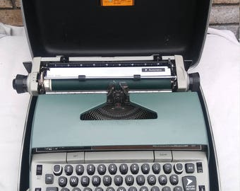 1960's Smith and Corona 210 Automatic Typewriter