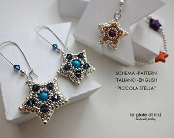 """DIY schema orecchini """"Piccola Stella"""""""