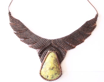 Macrame Necklace 3
