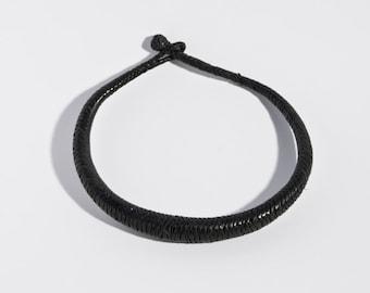 Necklaces of leather tuareg