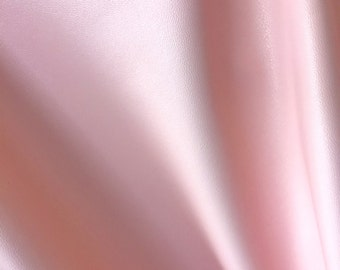 "Soft Pink Stretch Vinyl, 56"" inch width, sold by the yard"