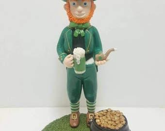 St. Patrick's day leprechaun figurine