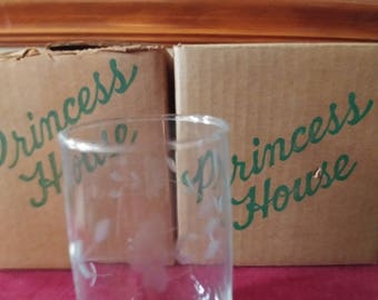 Vintage Princess House Beverage Glasses